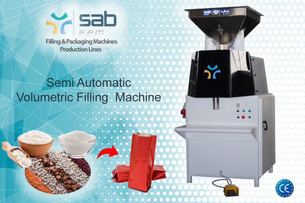 semi automatic Volumetric Filling-machine
